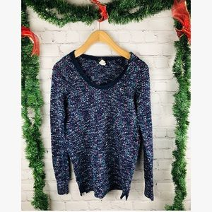 FREE PEOPLE crew neck thermal long sleeve